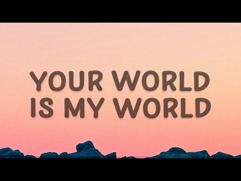 Justin Bieber  Your world is my world (One Time) (Lyrics)