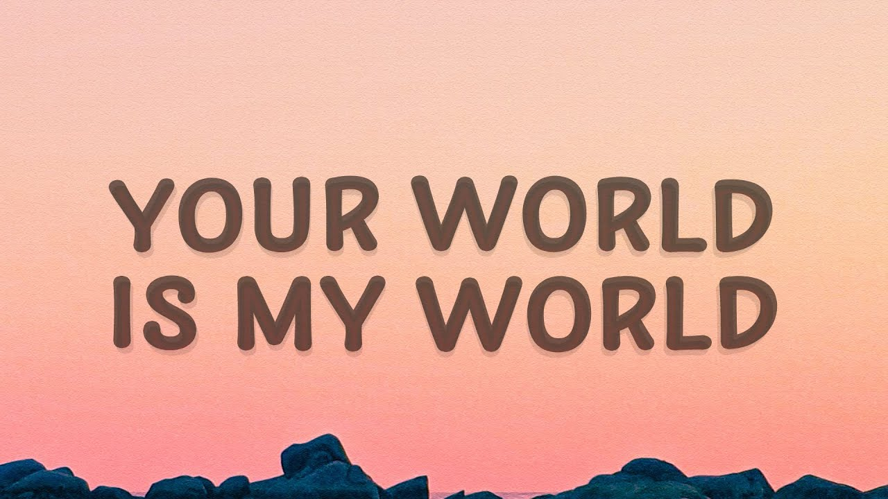 Justin Bieber - Your world is my world (One Time) (Lyrics)