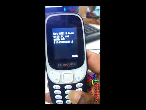 H MOBILES 3310 IMEI REPAIR WITHOUT BOX SIMPLE