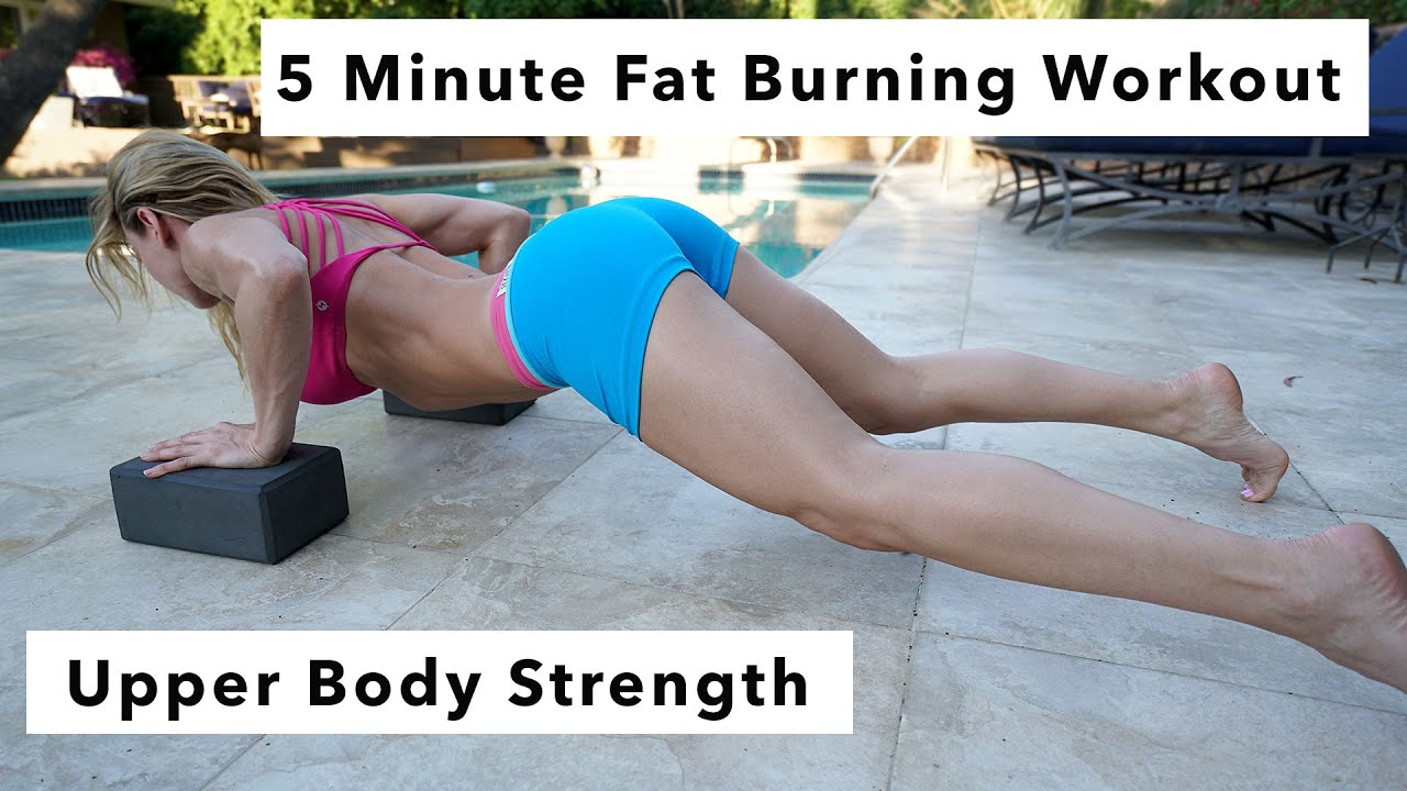 Fat burning strength training routine