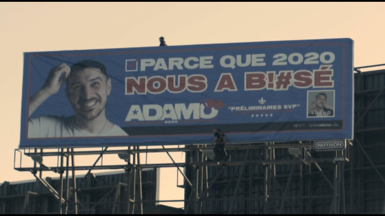 ADAMO - Préliminaires SVP : L'ALBUM PHYSIQUE MAINTENANT DISPONIBLE PARTOUT