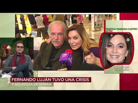 Fernando Luján se encuentra hospitalizado | Ventaneando