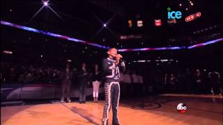 Mexican Charro Sebastien De La Cruz Sings National Anthem @ NBA Finals