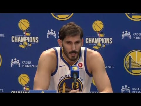 Omri Casspi Press Conference | Warriors Media Day 2018 NBA Season | Sep 22, 2017