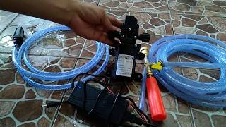 Mesin Pompa Air GOODPUMPs Mesin Cuci Motor Sepeda Mobil Semprot Steam Kendaraan Jet Cleaner 130Psi 72 Watt Sprayer Pump Pembersih