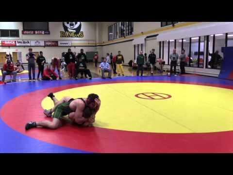 2015 Golden Bear Invitational: 82 kg Clayton Brinker vs. Riley Molyneaux