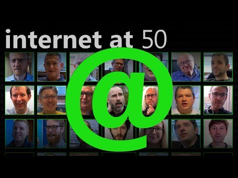 First Time on the Internet (Internet at 50) - Computerphile