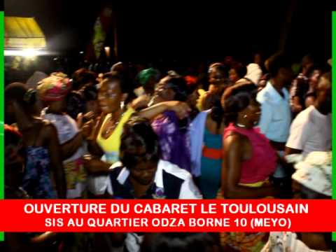RICHARD AMOUGOU SPECTACLE OUVERTURE DU CABARET LE TOULOUSAIN