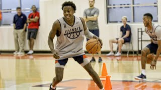 Illini Basketball Summer Workouts | 6/20/18