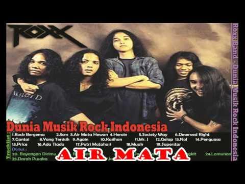 Roxx-FULL ALBUM | Festival Rock Indonesia Popular Music Rock Hits Year 90s