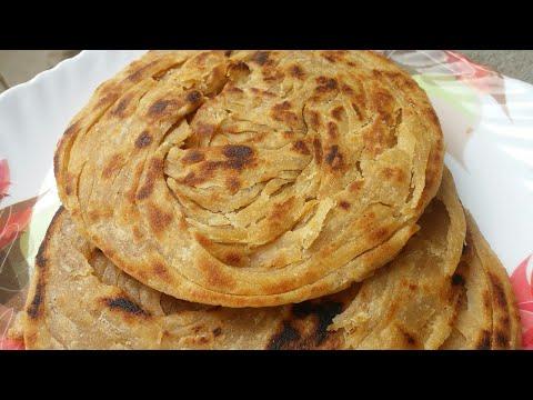 lachha-parantha-|-multi-layered-indian-bread-recipe-|-wheat-flour-indian-bread