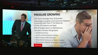 Mark Hurd at Oracle CloudWorld New York 2018: Transform your Business Keynote