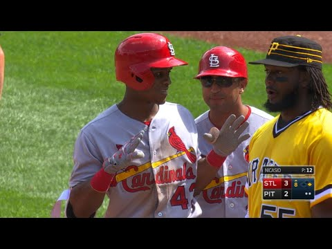 STL@PIT: Sierra collects four singles against Bucs