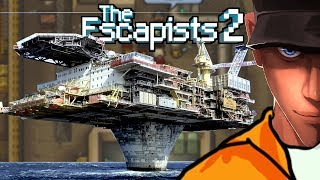 The Escapists 2 H.M.P OFFSHORE Prision Layout tour | Let's play The Escapists 2 Gameplay