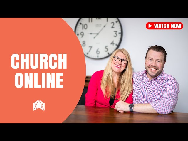 BRETT & KATE RYAN - SUNDAY 6TH SEPTEMBER - CHURCH ONLINE