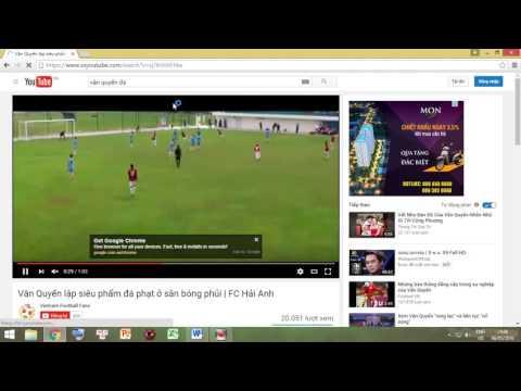 Hướng dẫn dowload video trên youtube nhanh và đơn giản nhất