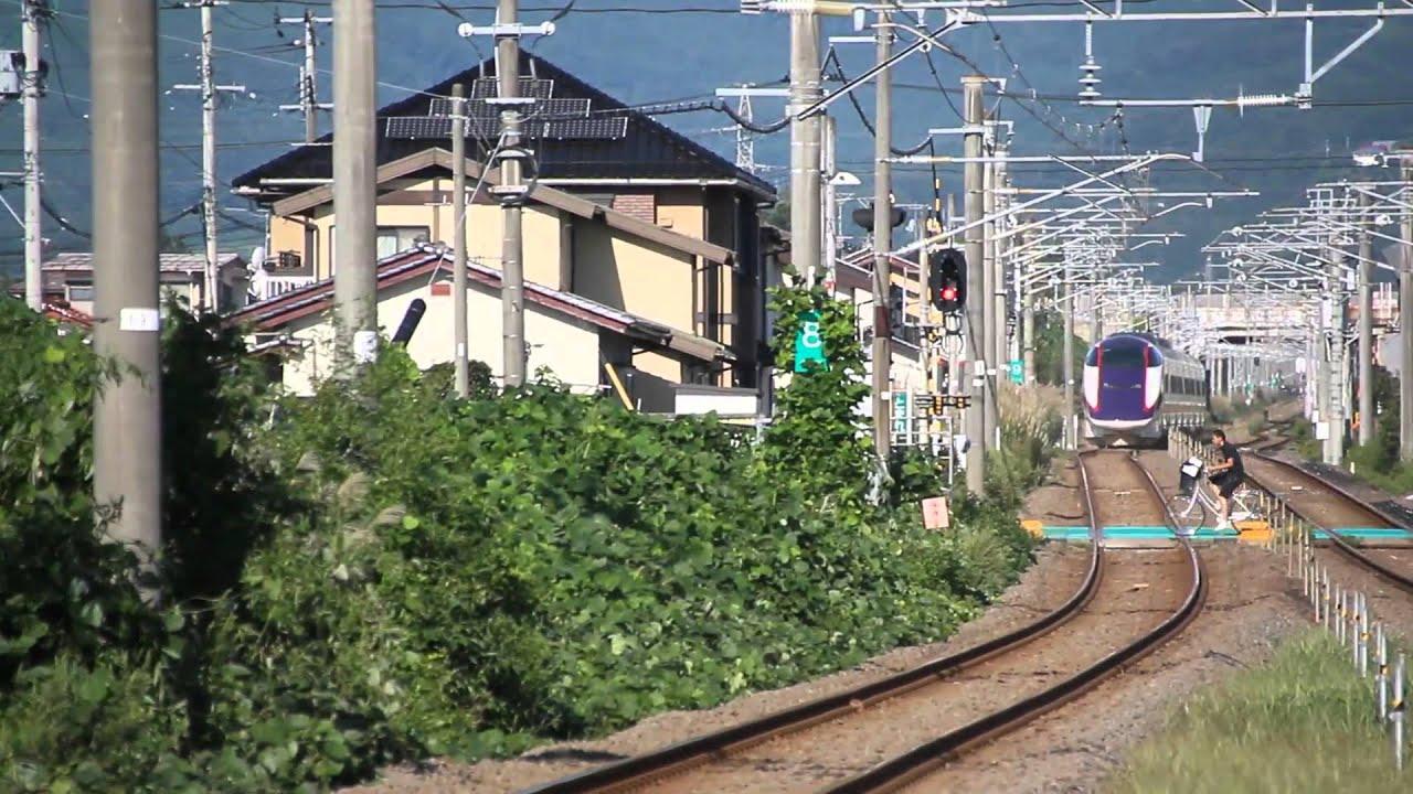 奥羽本線(山形新幹線) E3系121M...