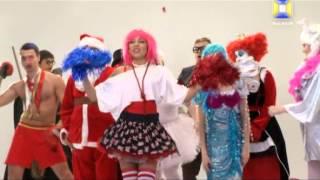 Съемки клипа OKSI «Новогодняя»