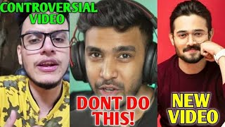 Techno Gamerz DISAPPOINTED On These YouTubers! | Triggered Insaan STRIKE?, Bhuvan Bam NEW VIDEO |