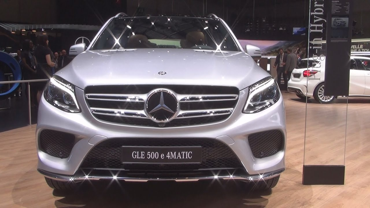 Mercedes Benz Gle 500 E 4matic Suv 2017 Exterior And Interior In