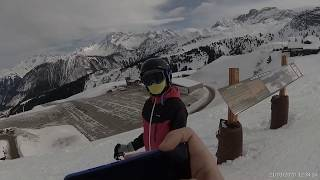 France 3 valleys Courchevel Altiport blue 2020 01 21