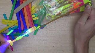 Светящиеся вертолётики и разноцветные палочки