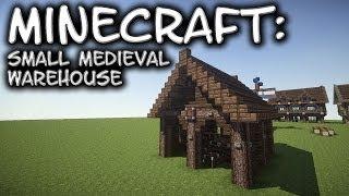 minecraft warehouse medieval tutorial