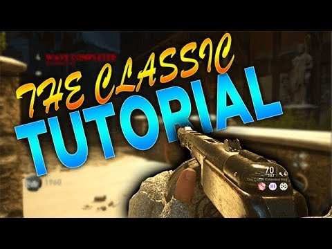 "WW2 Zombies: How To Get ""The Classic"" FULL TUTORIAL!"