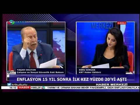 Haber Merkezi - Ebru Birçak & Yaşar Okuyan - 4 Ekim 2018 - KRT TV