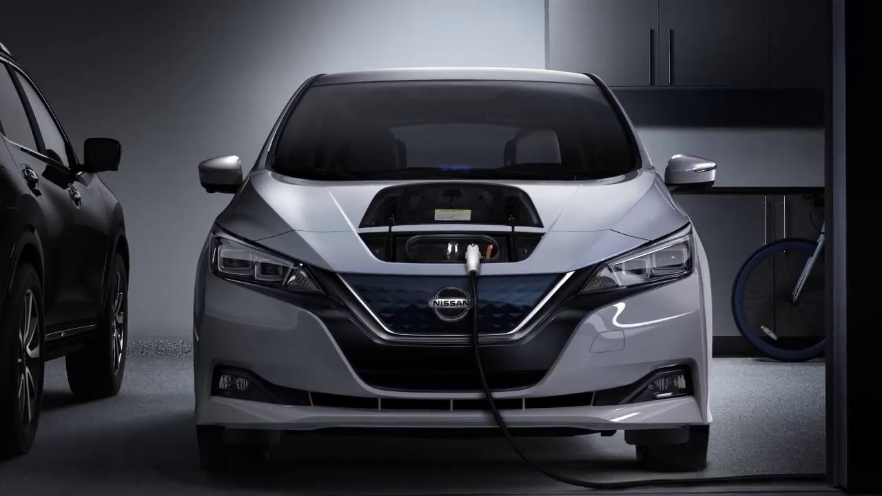 2018 Nissan LEAF   Charging Status Indicator Lights