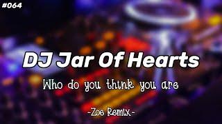 DJ Jar Of Hearts #DJMelayangLayang Viral Tiktok [Christina Perri] - Bang Zoe RMX