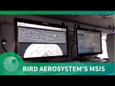 Eurosatory 2018: Bird Aerosystems unveil MSIS