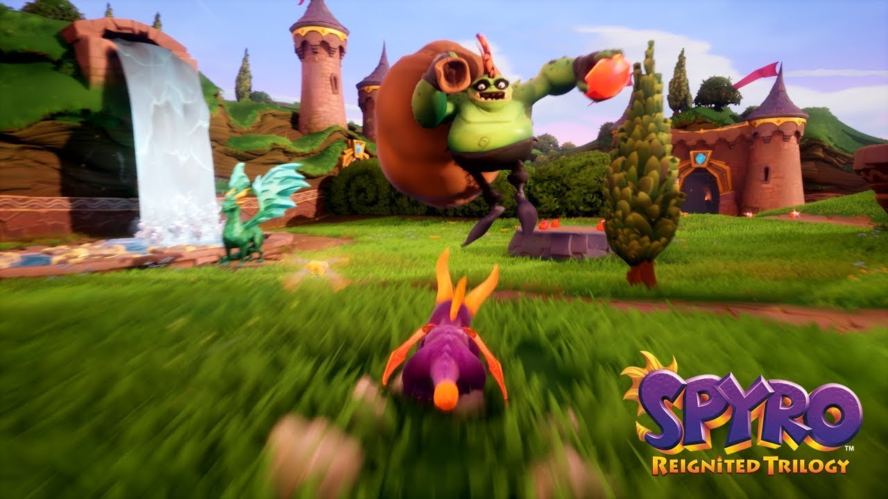 All Scaled Up Gameplay Spot | Spyro Reignited Trilogy - YouTube
