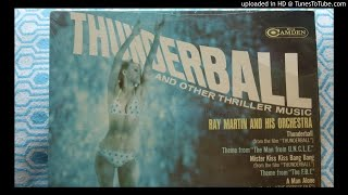 Ray Martin The Trials Of O'Brien from THUNDERBALL LP