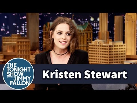 Kristen Stewart Really Does Smile a Lot