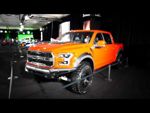 New 2018 Ford F-150 Raptor Truck - Galpin Auto Sports Custom Car - 2017 LA Auto Show