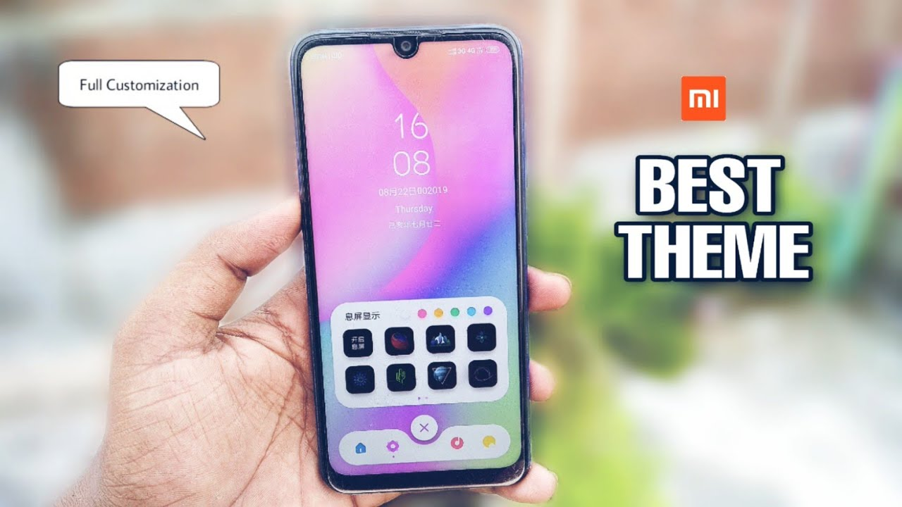 Best New Theme For MIUI 10 & Xiaomi Device's | Some New Feature Unlocked