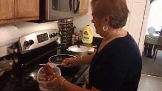 Spanish Cooking Made Easy - Arroz Con Gandules Y Chuleta Frita