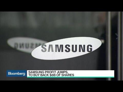 Samsung Profit Jumps, Plans $8 Billion Share Buyback