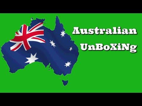 Australian Gift Unboxing