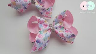 Laço De Fita 🎀 Ribbon Bow Tutorial #46 🎀 DIY by Elysia Handmade