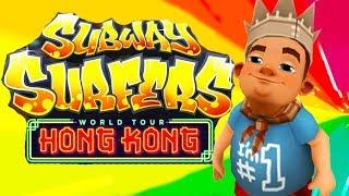 Subway Surfers World Tour #5 (Hong Kong) | Android Gameplay | Friction Games