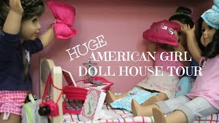 Huge American Girl Doll House Tour!