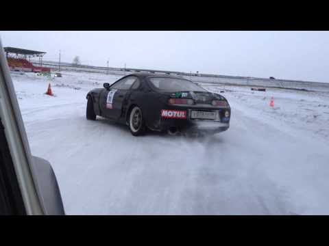 Winter Drift Battle 2 этап Виталий Козлов Toyota Supra