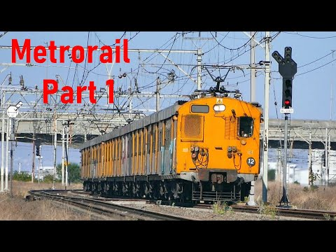 METRORAIL Cape Town 2016-2020 Compilation Part 1 Metro Trains Video clips | Train South Africa