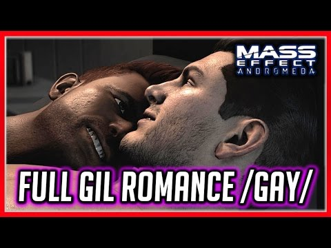 Mass Effect Andromeda 💖 Complete Gil Romance - All Scenes (Gay)