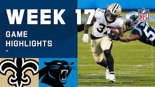 Saints vs. Panthers Week 17 Highlights