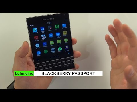 BlackBerry Passport review (www.buhnici.ro)