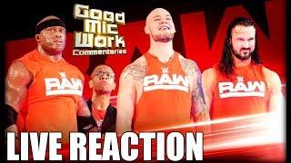 WWE RAW November 19, 2018 LIVE REACTION