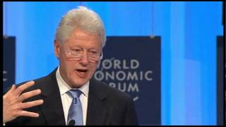 Davos Annual Meeting 2010 - Special Session on Haiti with Bill Clinton